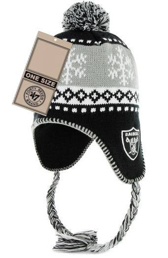 NFL Oakland Raiders Winter Hat JT
